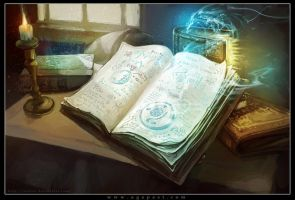 Spell Books by Tsabo6