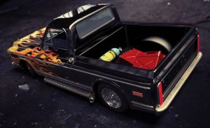 1972 chevy c10 3 by xtrm3d