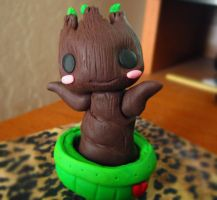 Groot Baby by Thekawaiiod