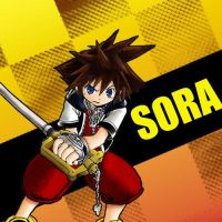 Kingdom Hearts Sora by Manuellk