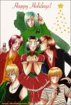 c-angel--holidays 2008 card. by ryuuenx