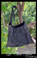 Spider Bag by LeChatNoirCreations