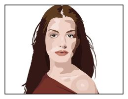 Anne Hathaway by AngelicRuin