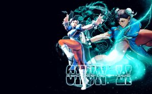 ChunLi_wallpaper by MasterKenny