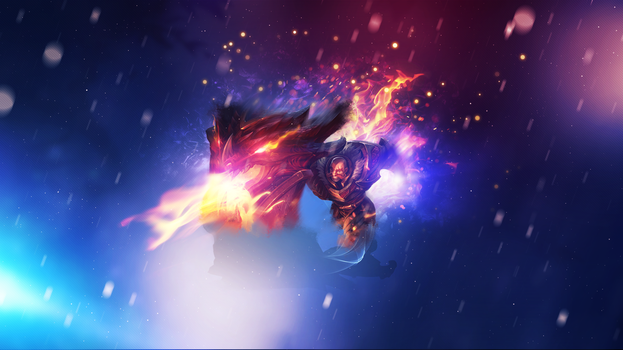 D. Slayer Braum ~ League of legends - Wallpaper by Aynoe