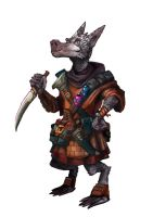 Tak-tak the kobold by carloscara