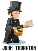 John Thornton Lego Minifigure by Norloth