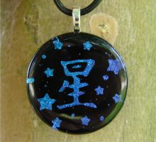 Custom Star Fused Glass by FusedElegance