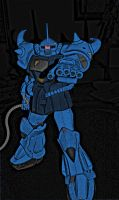 Comic MS-07 'Gouf' by namedjughead