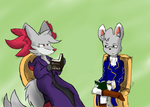 KA :: COLLAB Rest, Read, and Relax by bellberrystar