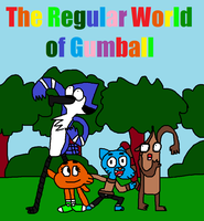 Gift-The Regular World of Gumball Poster by TechmoGinger4eves