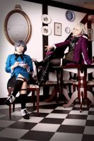 Ciel and Alois during tea... by lavena-lav