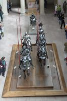 Mounted Knight group 8 by oldsoulmasquer