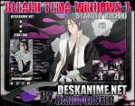Byakuya Kuchiki Theme Windows 7 by Danrockster
