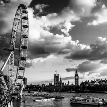Behind the London by Emily-Wendy