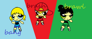 Rowdyruff Tomboys by buttercup234