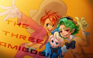 the three amigos by nene-takagi