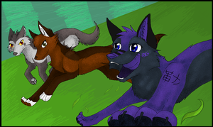 on your marks. get set... by reaper-neko