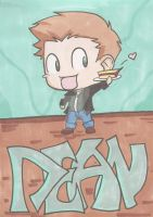 Dean Winchester Chibi by The-Winter-Phoenix