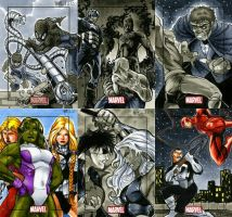 Marvel Heroes and Villains 16 by RichardCox