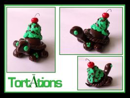 Mint Chocolate Chip by Tortations