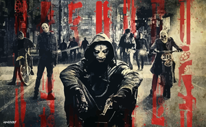 The Purge: Anarchy Vector Wallpaper by elclon