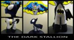 The Dark Stallion (entry for MLPlushie contest) by rpm1337