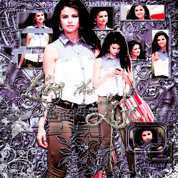 BLEND SELENA GOMEZ PS by haru-chan-editions