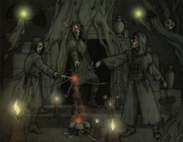 The vampires of Hopeless, Maine by CopperAge