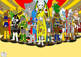 Yore Colossal Gladiators of Rome by DragonSnake9989