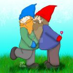 Gnomes In Love by grammabeth