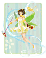 Sakura in her fairy costume by hadh