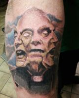 3 face priest by TwoToneTattoo