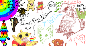 Iscribble fun by Ravenstar01