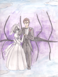 AizenXUlquiorra ~A Beautiful Bride~ by kakashi-copycat-kun