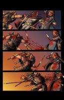 DARK AGE #1, Sample Page 6 - COLORS by Theamat