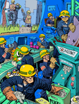Video Game Factory by AngusMcLeod
