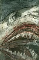 Blood Shark by bigredsharks