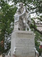 The Statue of Shakespeare in Leicester Square 2014 by ChristianPrime1-Bot