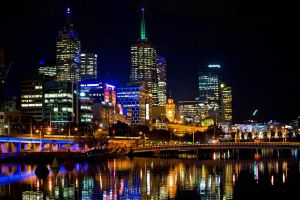 Yarra Lights by Bjay70