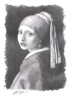 Girl with Pearl Earring by sfhys