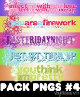 Pack de png's #4 by StayLikeAMonster