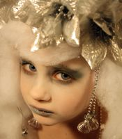 Winter Fairy Portrait Stock by Pulling-Stock