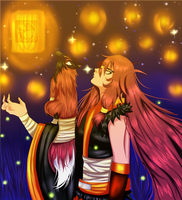 TG_Mission_Lanterns in the Sky by SoulOfPersephone