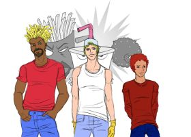 Aqua Teen Hunger Force by HiddenMutation