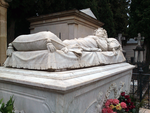 Cemetery Statue by LadyAlerie