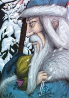 Grandfather Frost by ScandinavianLullaby