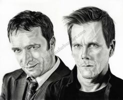James Purefoy and  Kevin Bacon - The Following by GemmaFurbank