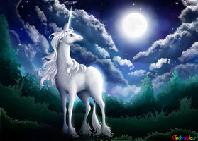 The Last Unicorn by KTechnicolour