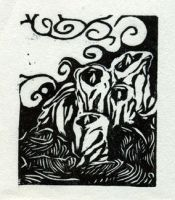 Candle ex-libris by teriathanin